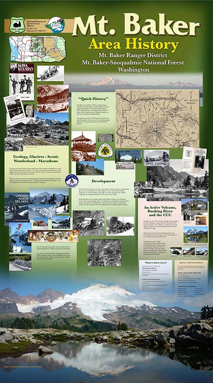 Mt. Baker Ranger District Interpretive Display