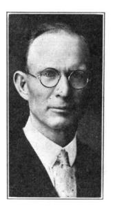 James W. Girard during his tenure as vice president and general manager for the Herrick Lumber Company, c. 1928.